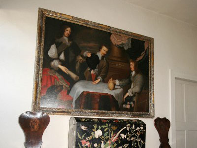The painting at Ashdown House