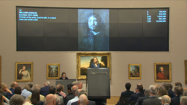 Dobson Self-Portrait smashes auction record!