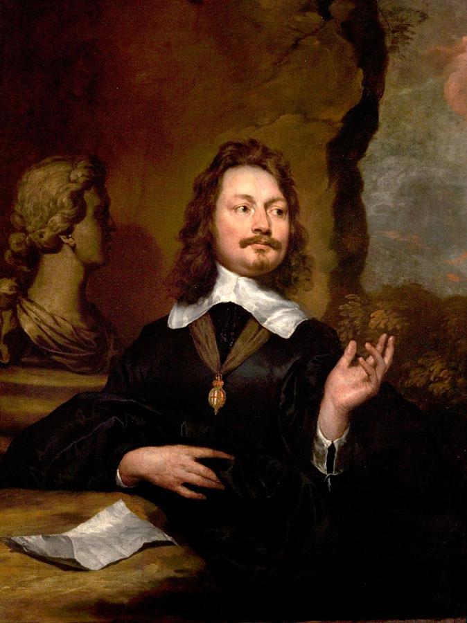 Sir Edward Walker, c. 1645-1646, WIlliam Dobson